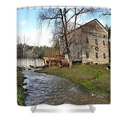 Brightwell's Mill 3 Shower Curtain