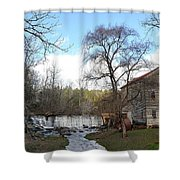 Brightwell's Mill 4 Shower Curtain