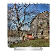 Brightwell's Mill Shower Curtain