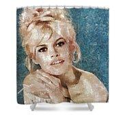 Brigitte Bardot, Actress Shower Curtain