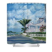 Briland Breeze Shower Curtain