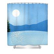 Brilliance Shower Curtain