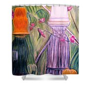 Brilliant Reflections Shower Curtain