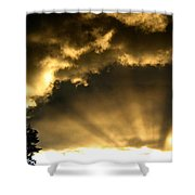 Brilliant Sky Shower Curtain
