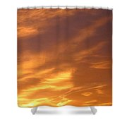 Brilliant Spring Sky Shower Curtain
