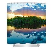 Brilliant Sunset Shower Curtain