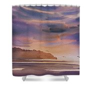 Brilliant Sunset Shower Curtain