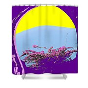 Brimstone Gate Shower Curtain