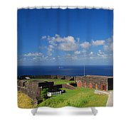 Brimstone Hill Fortress Shower Curtain