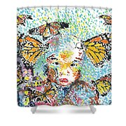 Bring Her Home Safely, Morelia- Sombra De Arreguin Shower Curtain