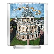 Bring Light Unto Mine Eyes Shower Curtain