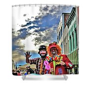 Bring Out The Clowns Shower Curtain