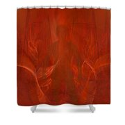 Bringer Of The Flames Shower Curtain