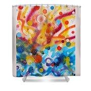 Bringing Life Spray Painting  Shower Curtain