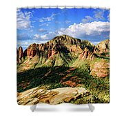 Brins Ridge 04-099pan Shower Curtain