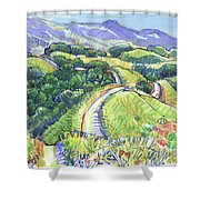 Briones Crest In May, Lafayette, Ca Shower Curtain