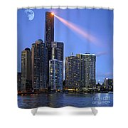 Brisbane 10 Shower Curtain