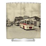Bristol Greyhound  Shower Curtain