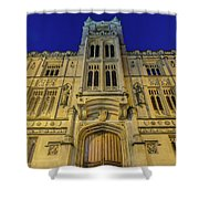 Bristol Guildhall By Night Shower Curtain
