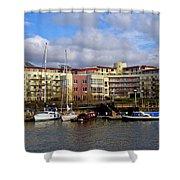 Bristol Harbour Appartments Shower Curtain
