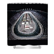 Bristol Motor Speedway Racing The Way It Ought To Be Shower Curtain