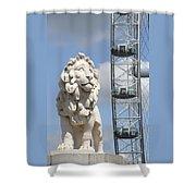 Britannia Lion Shower Curtain