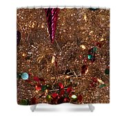 Brite Christmas Shower Curtain