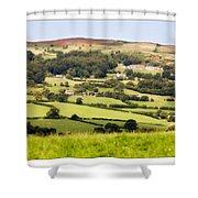 British Landscape Shower Curtain