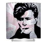 British Rock Shower Curtain
