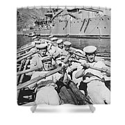 British Sailors Rowing Shower Curtain