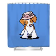 Brittany Girl Shower Curtain