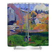 Brittany Landscape Shower Curtain