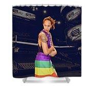 Brittney Griner Lgbt Pride 2 Shower Curtain