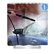 Bro4u Car Wash In Hyderabad Shower Curtain
