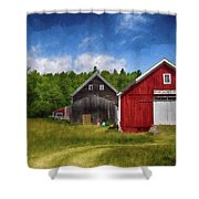 Broad Acres Is The Place To Be Shower Curtain