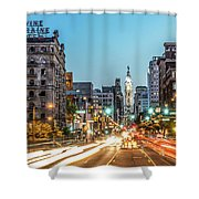 Broad Divine Shower Curtain
