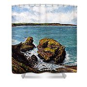 Broad Haven Shower Curtain