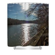 Broad River Shower Curtain