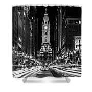 Broad St Shower Curtain