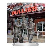 Broad Street Bullies Pub - Clarke And Parant Shower Curtain