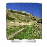 Broadlee-bank Tor From The Pennine Way Shower Curtain