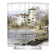 Broadmoor Hotel Shower Curtain