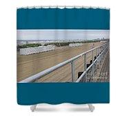 Broadwalk View Shower Curtain