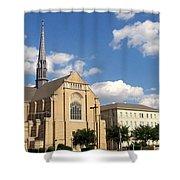 Broadway Baptist Shower Curtain