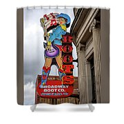 Broadway Boots - Nashville Tn Shower Curtain