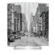 Broadway Chill Shower Curtain