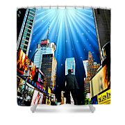 Broadway Rhythm Shower Curtain