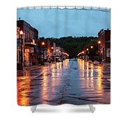 Broadway St. Excelsior Springs, Mo Shower Curtain
