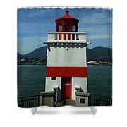 Brockton Point Light Shower Curtain