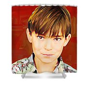 Brody Shower Curtain
